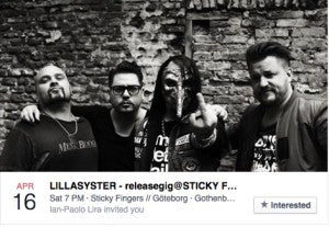 Lillasyster Release Sticky Fingers