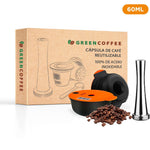 CÁPSULA REUTILIZABLE GREEN COFFEE™ TASSIMO® 100% ACERO INOXIDABLE