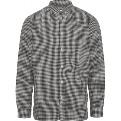 LARCH Double Layer Checked Shirt