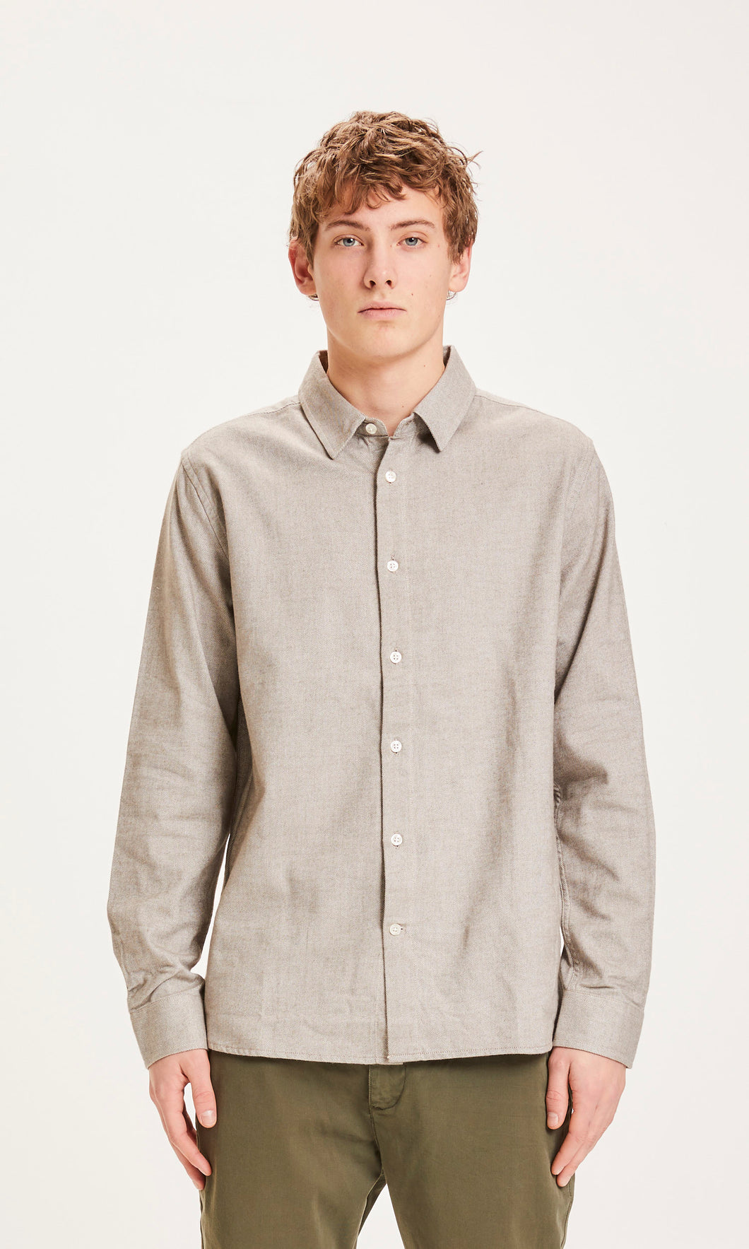 LARCH Casual Fit Heavy Flannel Shirt