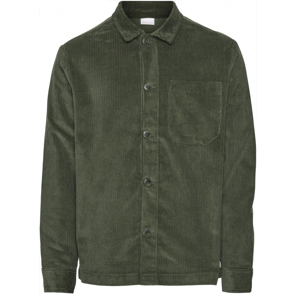 8 WALES Corduroy Overshirt With Button