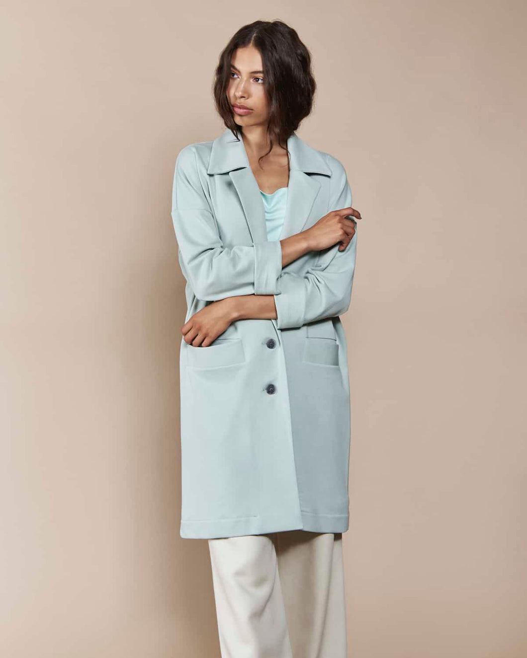 Coat BRADFORD Sweat Mint