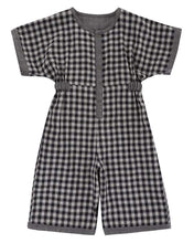 Lade das Bild in den Galerie-Viewer, Chambray/Check Reversible Jumpsuit