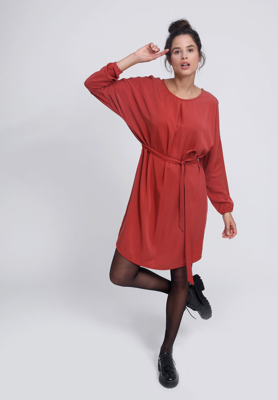 LASILA DRESS Chili Red