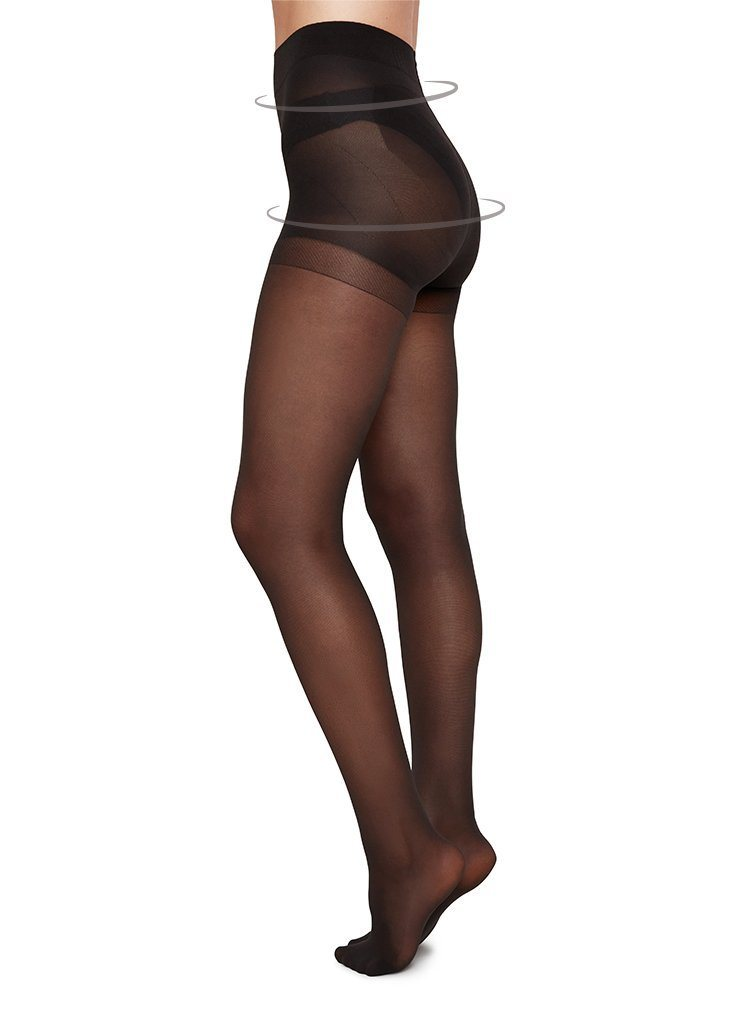 ANNA CONTROL TOP TIGHTS Charcoal