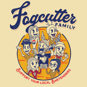 Load image into Gallery viewer, Fogcutter Bartenders Support shirt