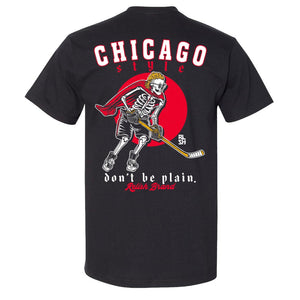 "Load image into Gallery viewer, ""Don't be Plain"" - Chicago Style Hockey"
