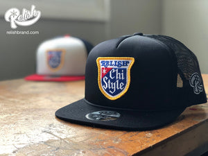 Load image into Gallery viewer, Chi Style - Snap back - Black