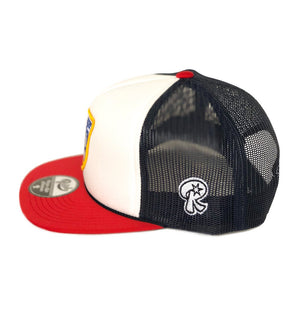 Load image into Gallery viewer, Chi Style - Snapback - Red, White & Brew