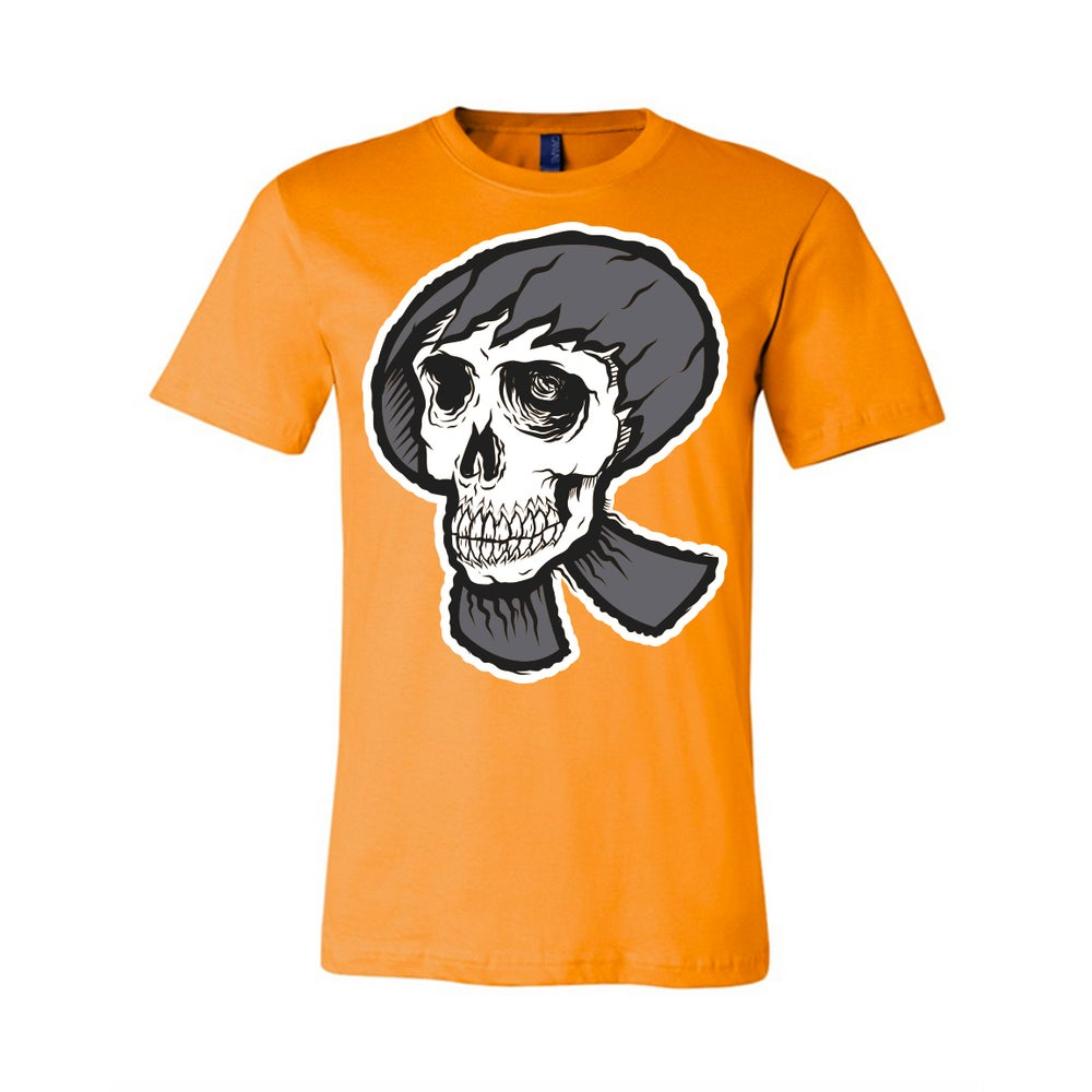 Skull R-Star shirt - Orange