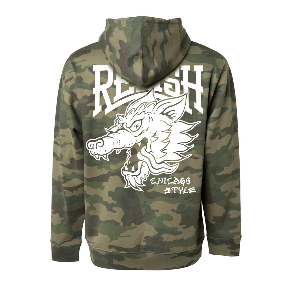 Load image into Gallery viewer, Lone Wolf Hoodie - Camo