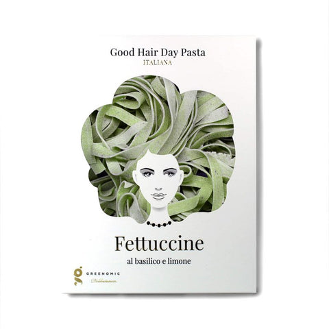 Good Hair Day Pasta, Fettucine al basilico e limone
