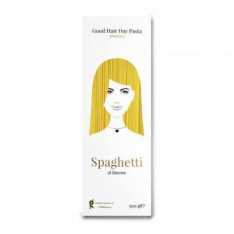 Good Hair Day Pasta, Spaghetti al Limone