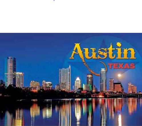 Austin Skyline Post Card