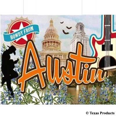 Austin Vintage Shopping Bag