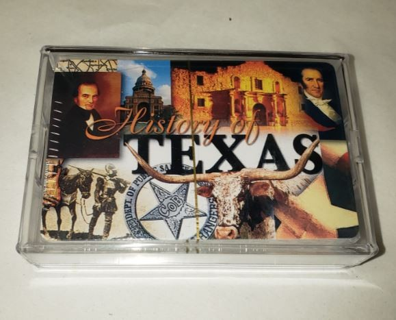 History of Texas Playing Cards