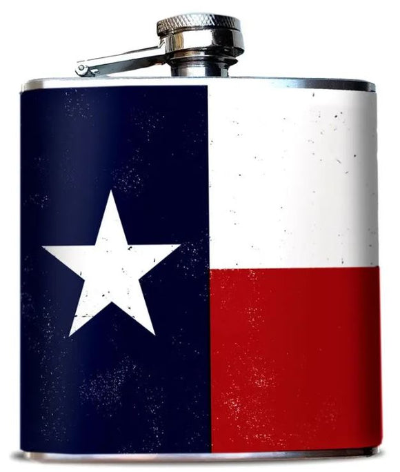 Texas Flag Flask