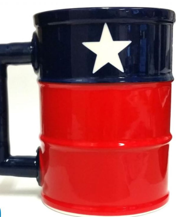 Texas Oil Field Mug