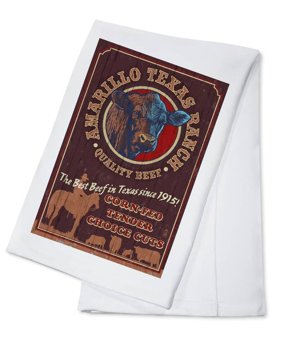 Texas Barn Star Towel