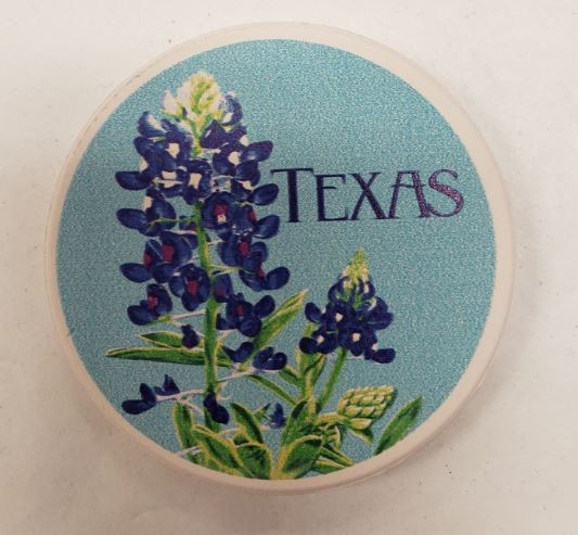 Texas Bluebonnet Car Coaster