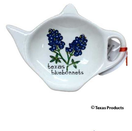 Texas Bluebonnet Teabag Holder