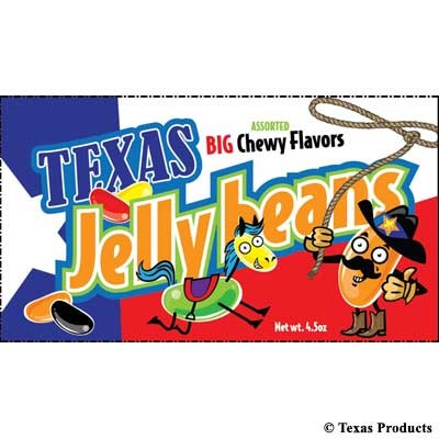 Texas Sized Jelly Beans