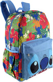 "LILO & STITCH - KIDS LARGE 16"" ALL OVER PRINT BACKPACK - 12467"