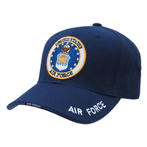 Rapid Dominance Genuine The Legend, Military Branch Caps (Adjustable , Air Force Navy)