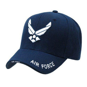 Rapid Dominance US Air Force Wings Logo Cap Hat - Miracle Mile Gifts