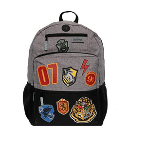 "Harry Potter 18"" Hogwarts School Kids' Backpack - Black"