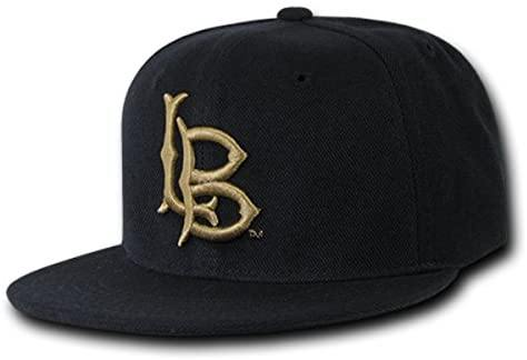 W Republic College Snapback Long Beach State44; Black - Miracle Mile Gifts