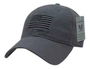 Rapid Dominance Tonal Flag Relaxed Graphic Cap, Dark Grey - Miracle Mile Gifts
