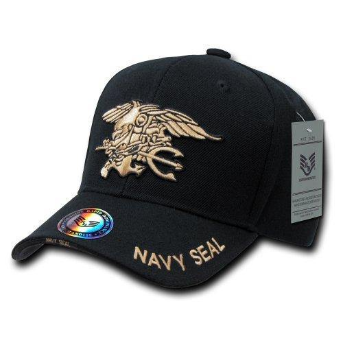 Rapid Dominance Navy Seal Text The Legend Military Cap - Miracle Mile Gifts