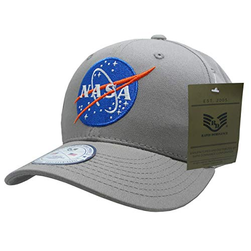NASA Mission Cap44 Meatball 11 Grey - One Size NAS13-MB11-GRY