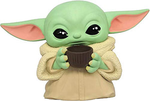 Star Wars The Child Grogu Holding Mug PVC Bank