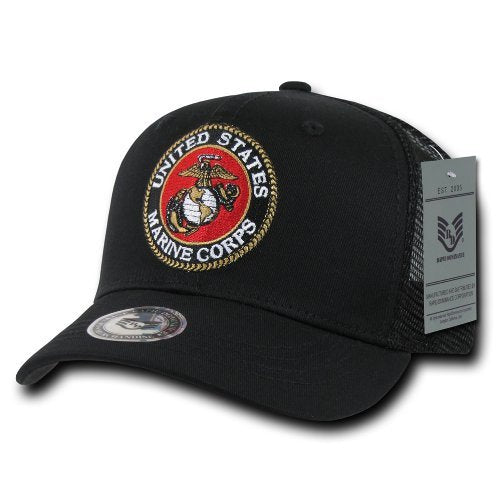 Marines Back to The Basics Mesh Cap Hat Black