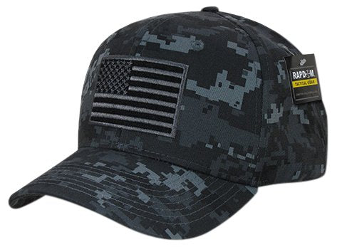 Rapid Dominance T76-USA-NTG Embroidered Operator Cap, USA, NTG, Midnight Universal