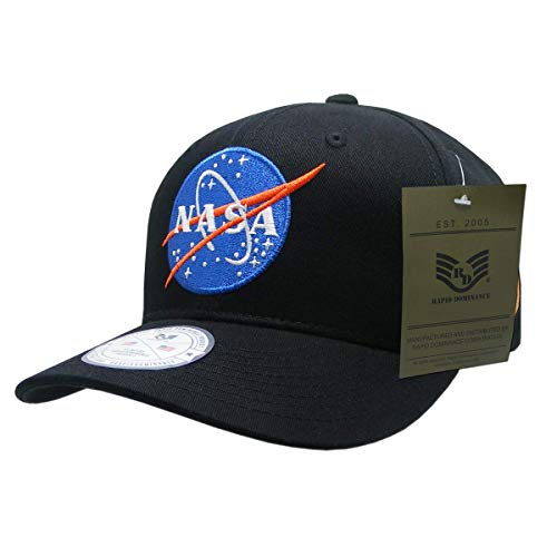 NASA Mission Meatball 11 Cap44  Black - One Size