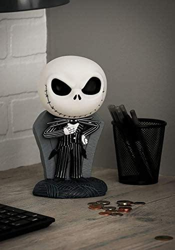 Nightmare Before Christmas Jack Skellington PVC Figural Bank - Miracle Mile Gifts