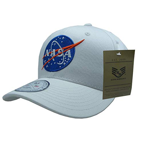 NASA Mission Cap44 Meatball 11  - One Size White