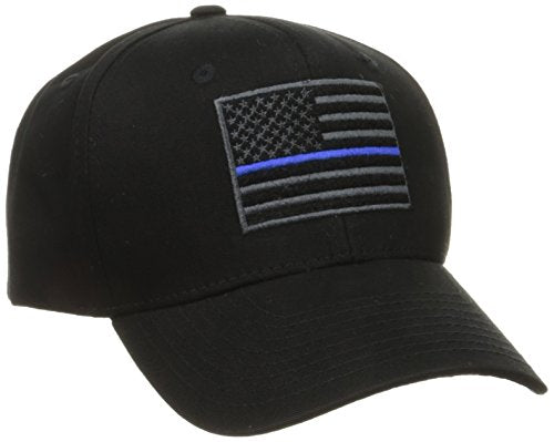 Rapdom Tactical USA Flag T76-TBL-BLK Embroidered Operator Cap