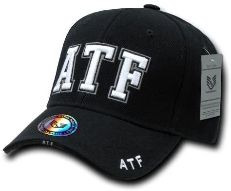 Rapid Dominance ATF Deluxe Law Enforcement Cap, Black - Miracle Mile Gifts