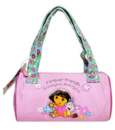 Dora the Explorer Hand Bag Purse Forever Friends Pink Flower