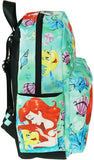 "The Little Mermaid - Ariel 12"" Deluxe Oversize Print Daypack - A21328"