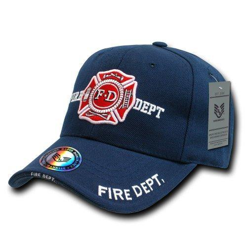 Rapid Dominance Fire Department Deluxe Law Enforcement Cap, Navy - Miracle Mile Gifts