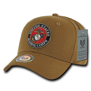 Marines Back to the Basics Cap Hat Coyote