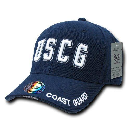 Rapid Dominance USCG Cost Guard Baseball Cap Navy - Miracle Mile Gifts