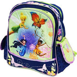 "Disney Fairies - Ride The Breeze - 12"" Toddler Backpack TinkerBell and Friends"