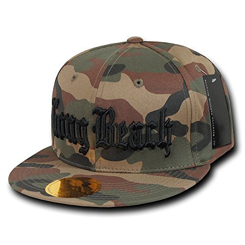 Nothing Nowhere Camo City Cap, Los Angeles / Long Beach