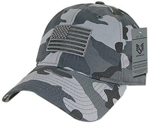 Rapiddominance A03-1TSA-URB Relaxed Graphic Cap, Tonal Flag, Urban - Miracle Mile Gifts